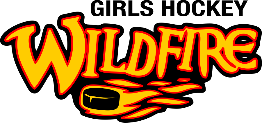Beaver Dam Girls Wildfire Hockey logo